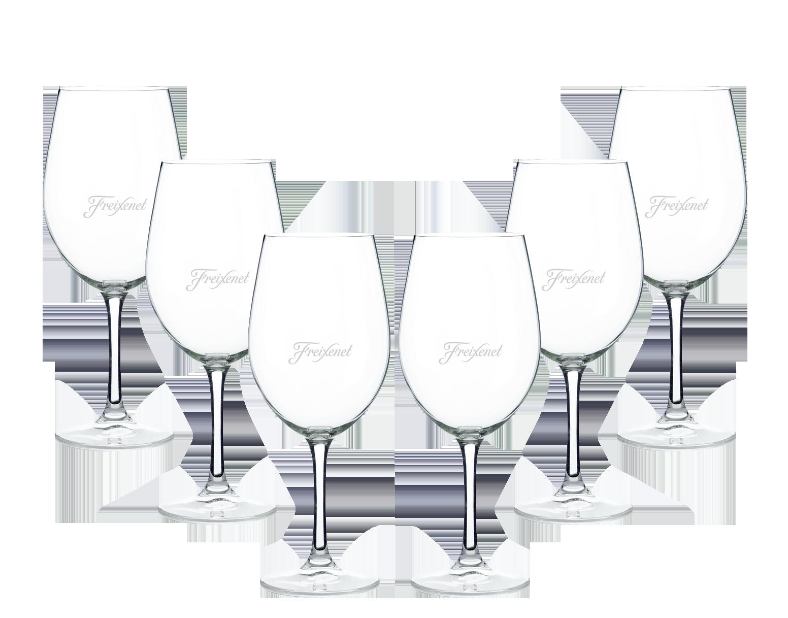 Freixenet Sommerdrinkglas 6er Set Stilglas / Weinglas