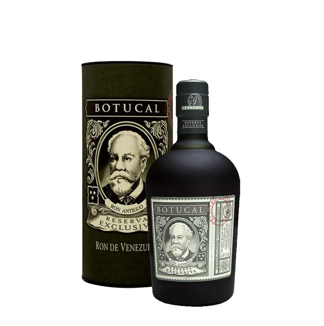 Botucal Reserva Exclusiva Rum mit Geschenkverpackung 0,70l (40% Vol) Ron de Venezuela - [Enthält Sulfite]