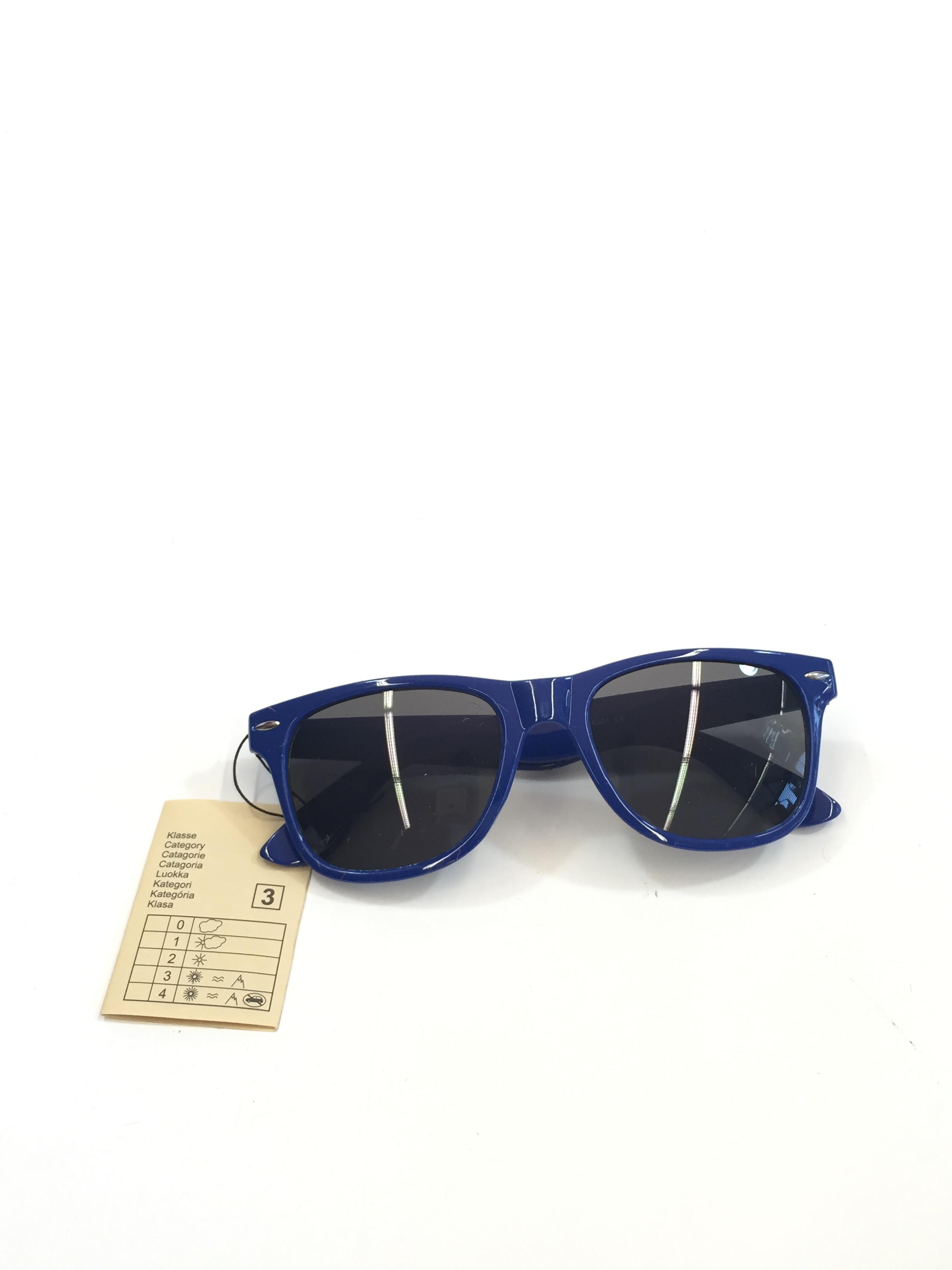 Sion Kölsch Sonnenbrille Nerd style blau - UV400 Klasse 3